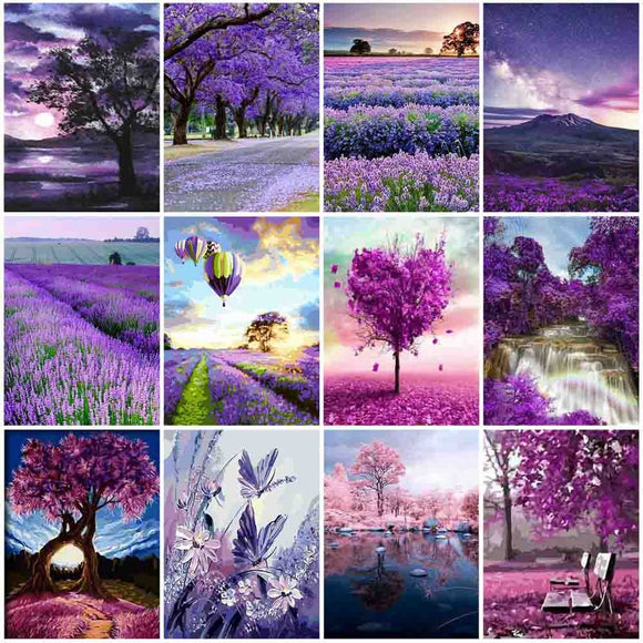 Paint By Number Scenery