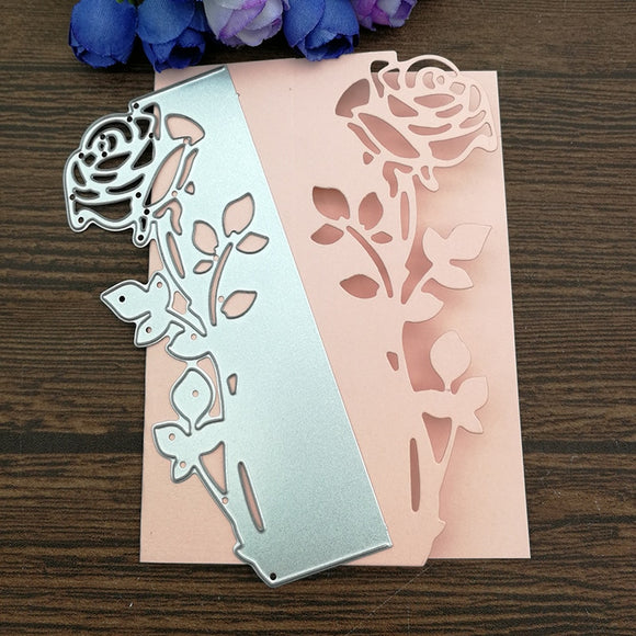 Rose Leaves border Metal Cutting Dies