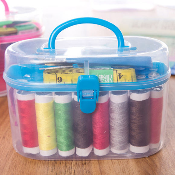 49pcs Sewing Accessories Portable Sewing Box