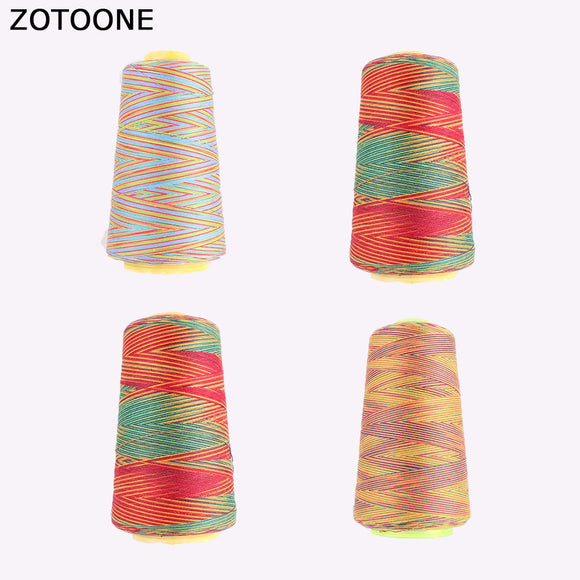Colorful Sewing Machine Thread Set Nylon
