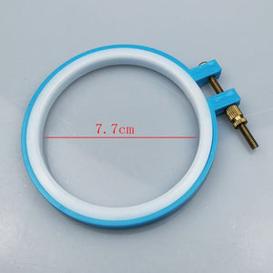 8-26cm  Adjustable Plastic Embroidery Cross Stitch hoop