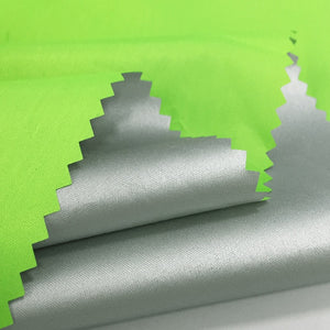 Thin Green Silver Coated Waterproof Fabric