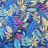 Clouds & Leaves Cotton  Fabric