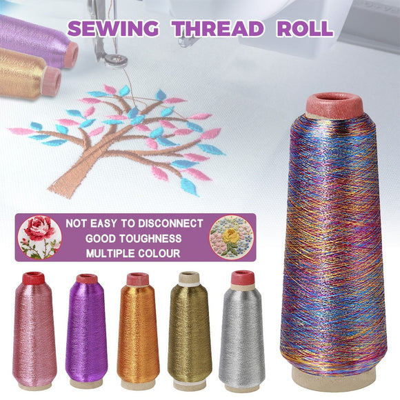 Rainbow Color Sewing Thread