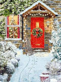 "Diamond Painting ""Christmas gate scenery"" Kits"