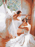 Diamond Painting Ballet Woman  Kit Diamond Embroidery