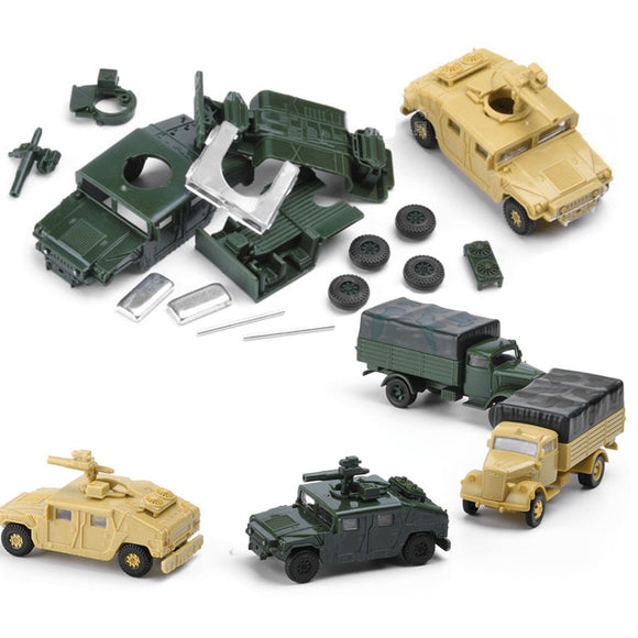 8Set  Assembly Us Army 1/72 Plastic  Kits