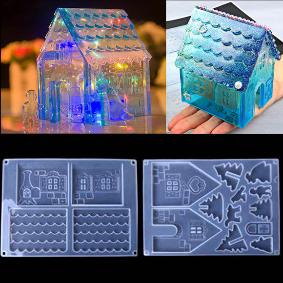 Christmas House Mold