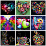 Diamond Painting Heart  Kit