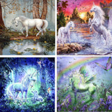 Unicorn Elf girl Diamond Painting Kits
