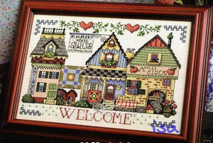 Welcome  Cross Stitch Cotton  Kit