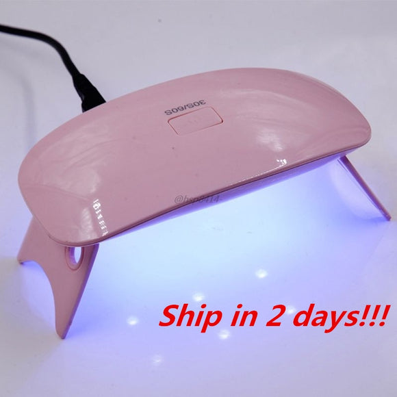 6W Mini UV Dryer Portable UV Resin Curing Lamp