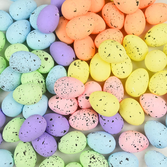 20Pcs 4cm Foam Easter Eggs