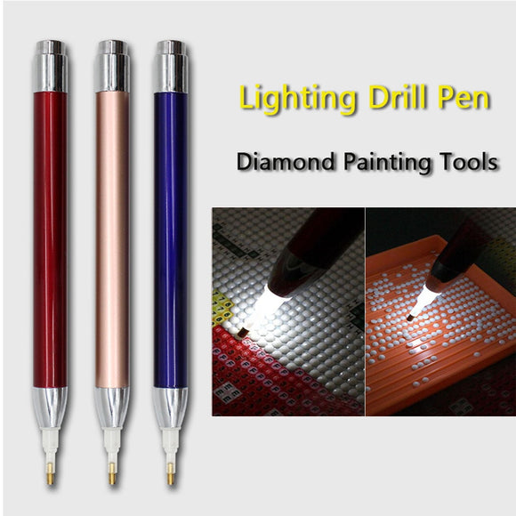 Lighting Point Drill Pen