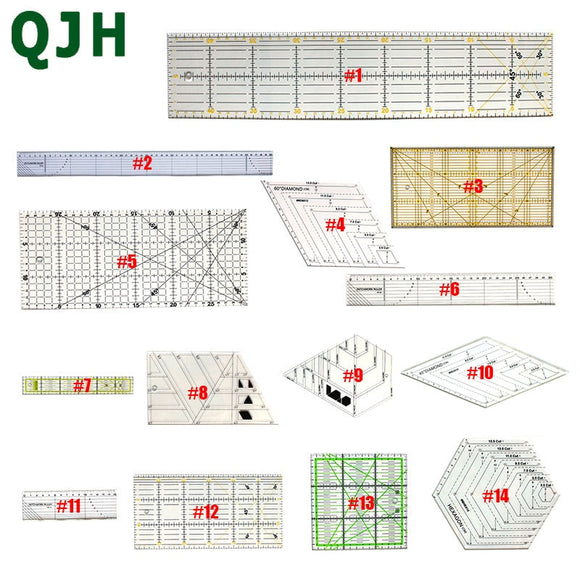 14 models  Patchwork ruler