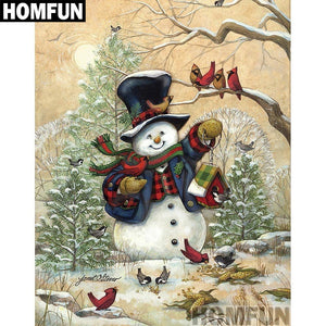 "Diamond Painting ""Christmas snowman"""