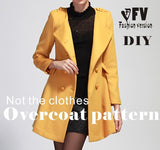 Overcoat Sewing Pattern