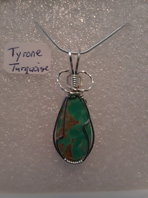 Tyrone Turquoise Necklace