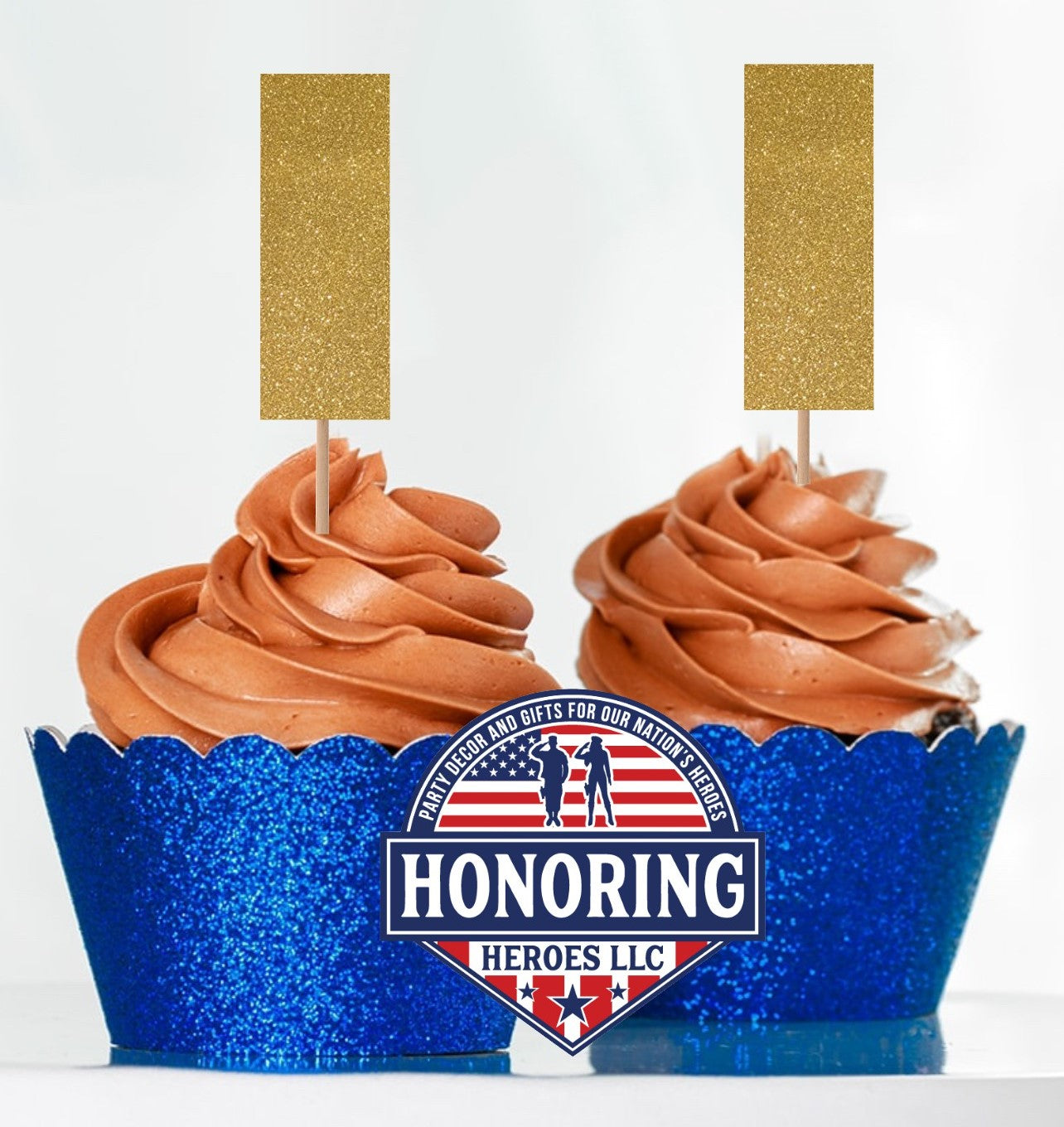 Air Force 2nd Lt. Cupcake Toppers