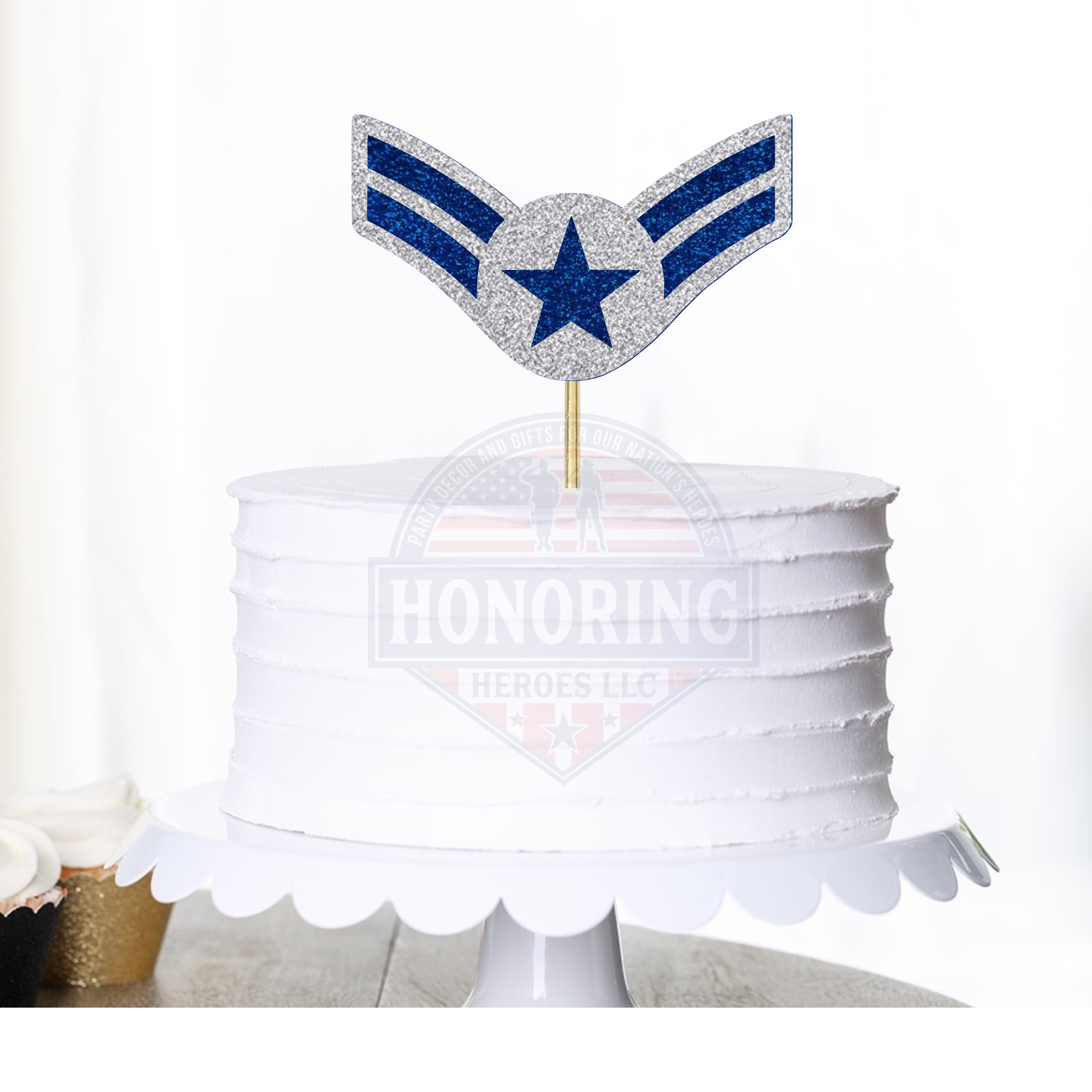 Air Force A1C Cake Topper