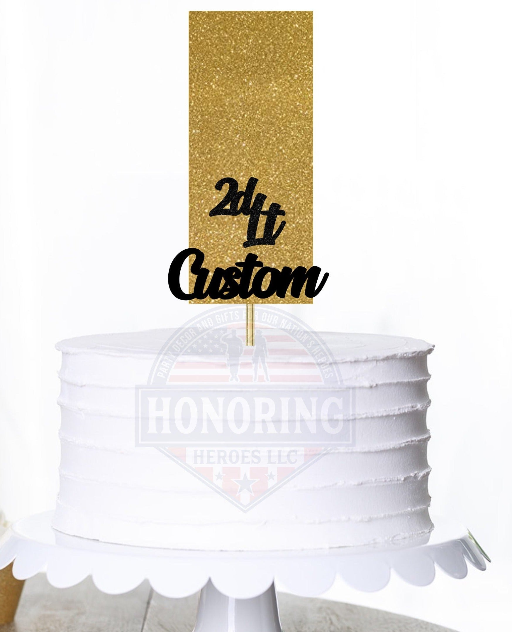 2nd Lt. Cake Topper/Centerpiece