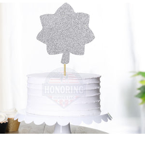 Lt. Col Cake Topper/Centerpiece
