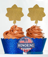 Air Force Major Cupcake Toppers