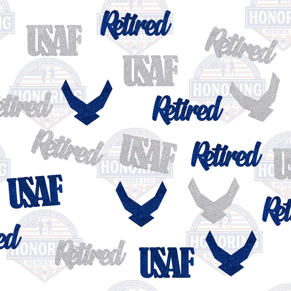 USAF Retired Confetti