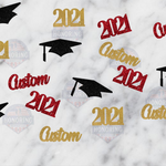 Load image into Gallery viewer, Customized 2021 Graduation Confetti