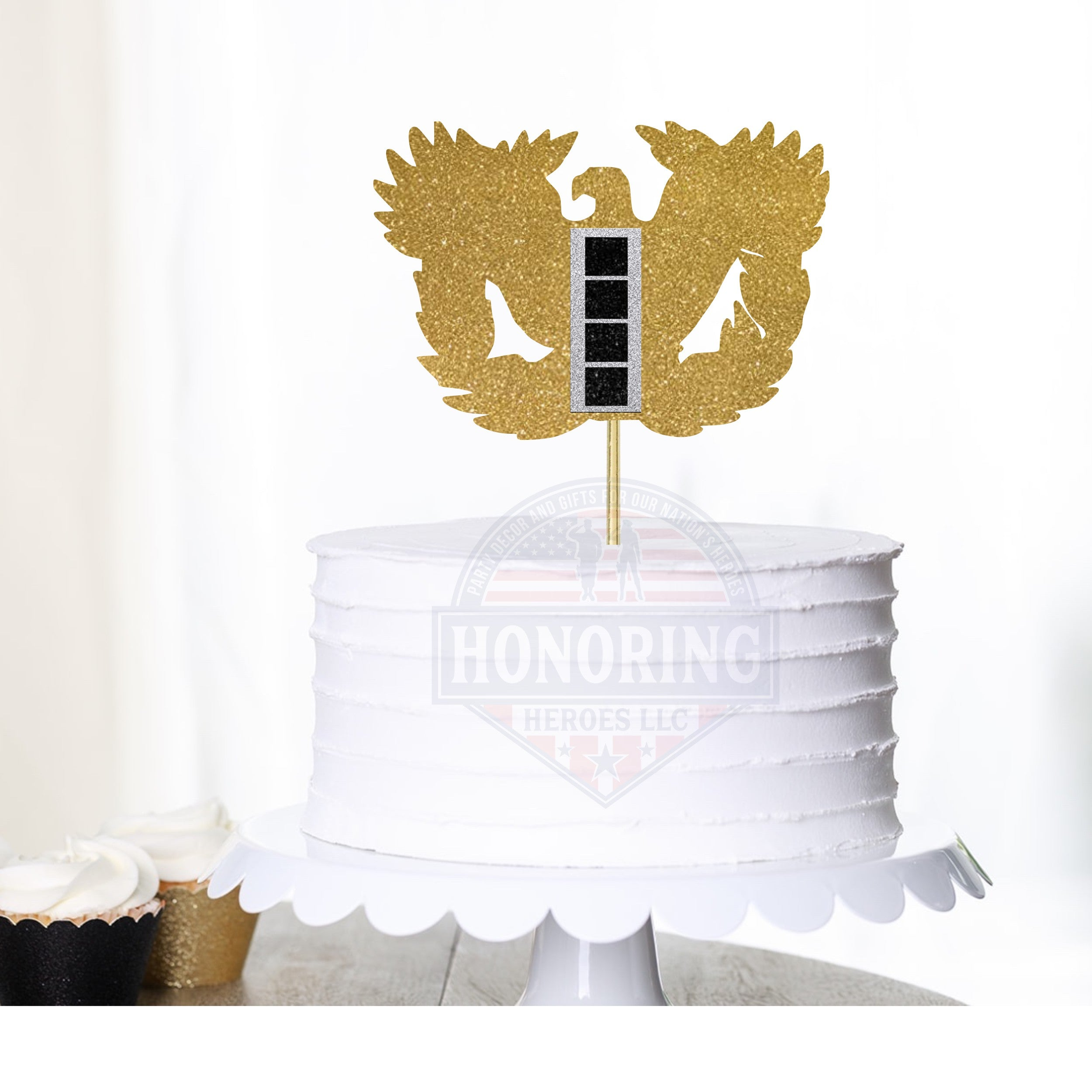 ARMY Rising Eagle Cake Topper