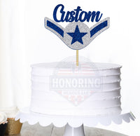 Air Force Amn Cake Topper