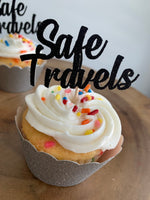 Load image into Gallery viewer, Safe Travels Cupcake Toppers