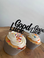 Load image into Gallery viewer, Good Luck Cupcake Toppers