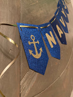 Load image into Gallery viewer, NAVY Banner