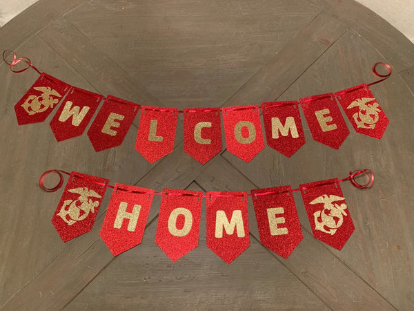 USMC Welcome Home Banner