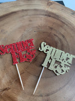 Semper Fi Cupcake Toppers, USMC Enlistment, Promotion, Retirement Semper Fidelis United States Marine Corps