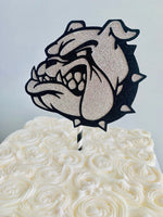 Load image into Gallery viewer, USMC Bulldog Centerpiece/Cake Topper Marine Corp Bulldog Mascot Emblem Sign