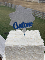 Load image into Gallery viewer, Customized Officer Rank Centerpieces or Cake Topper! So perfect for celebrating any officer in any branch!