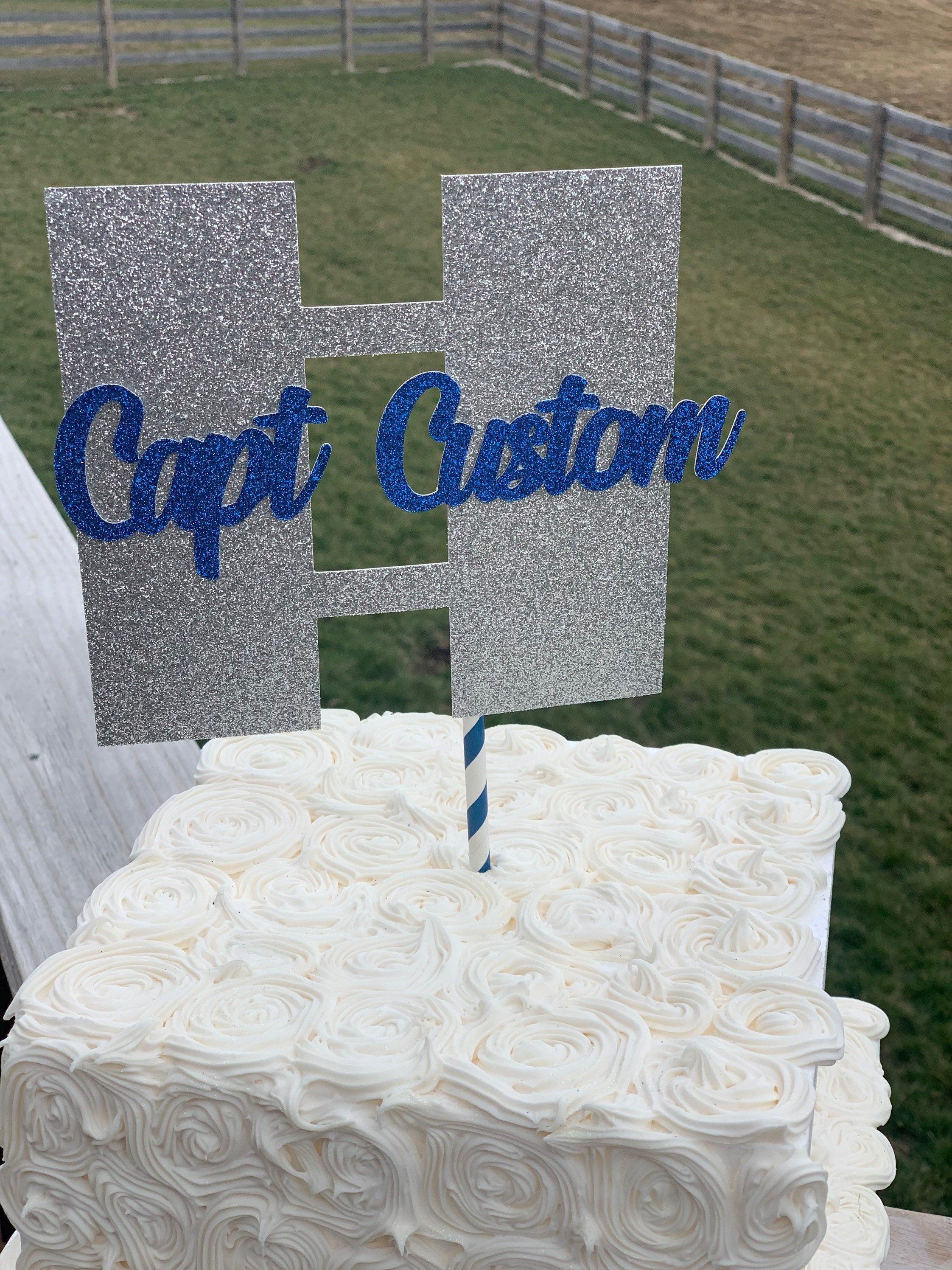 Customized Officer Rank Centerpieces or Cake Topper! So perfect for celebrating any officer in any branch!
