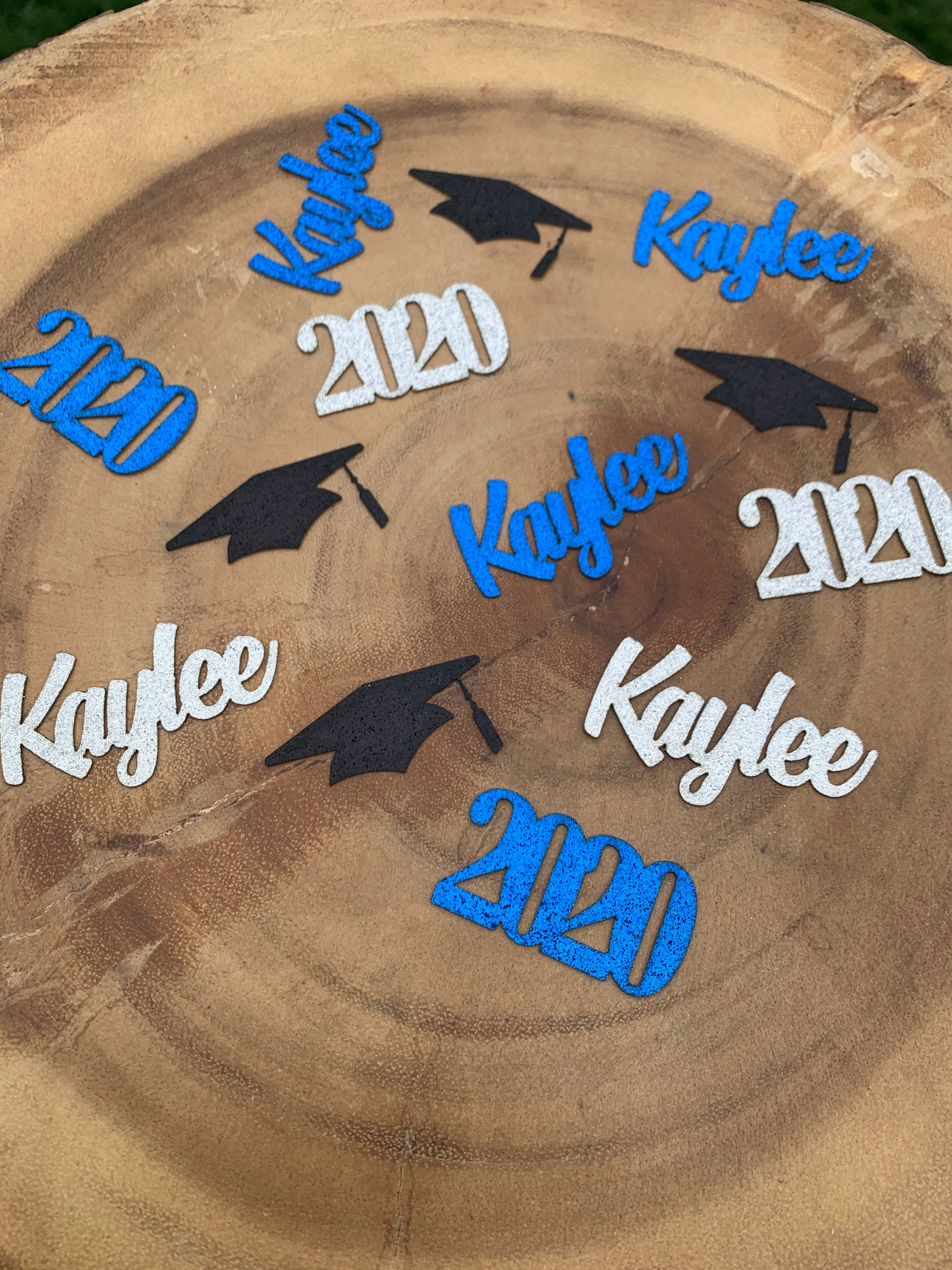 Personalized 2020 Graduation Confetti