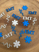 EMT Medic Confetti. EMT party confetti pieces
