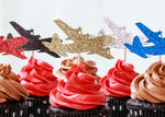 Load image into Gallery viewer, C130 Cupcake Toppers