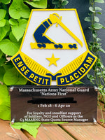 Load image into Gallery viewer, Custom Military Badge Plaque