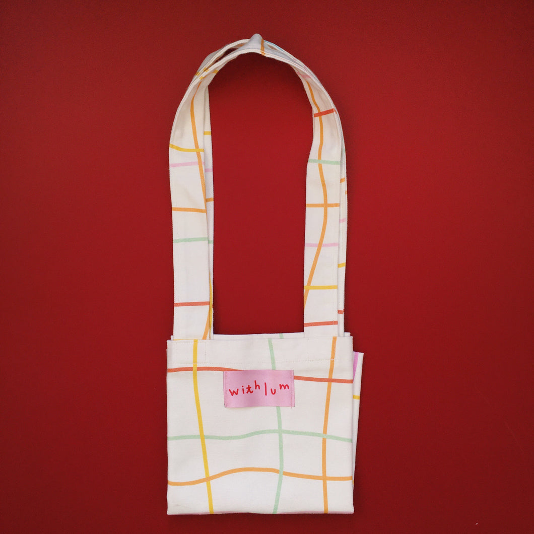 Mini tote bag Cuadros