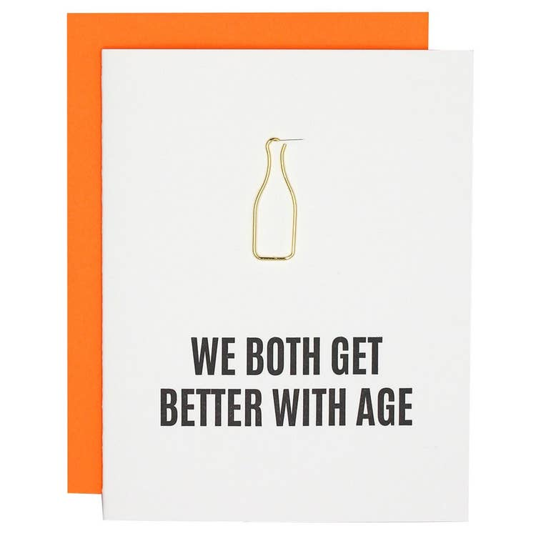 Better With Age Paper Clip
