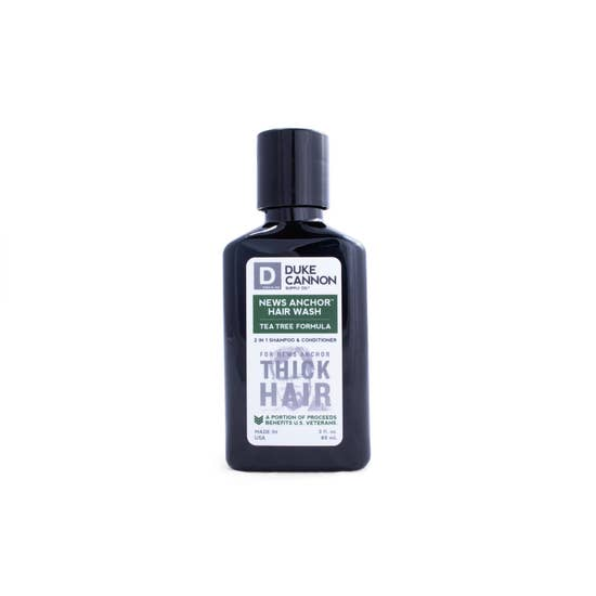 News Anchor Tea Tree 2-in-1 Hair Wash - Travel Size