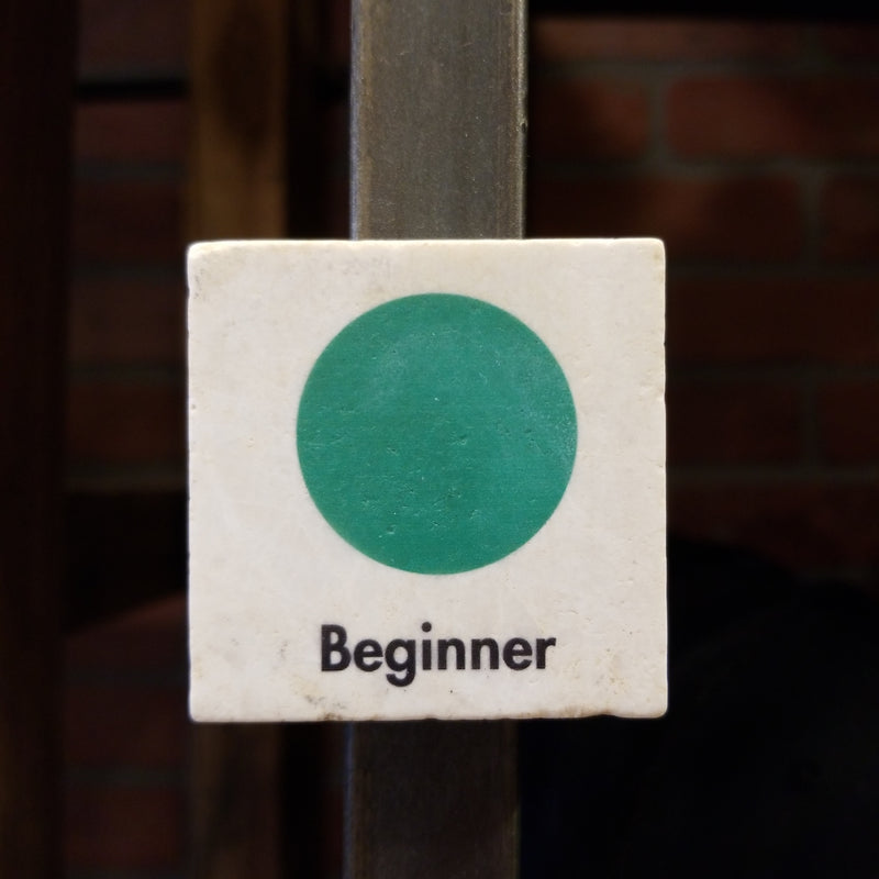 Ski Sign Magnet - BEGINNER
