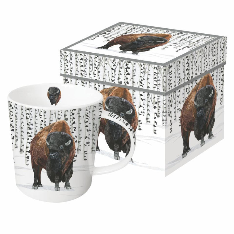 Mug In Box-Wilderness Buffalo