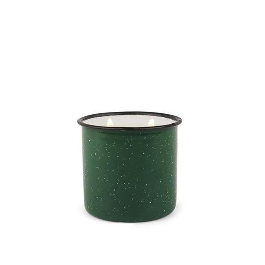9.5 OZ Enamelware Evergreen and Embers