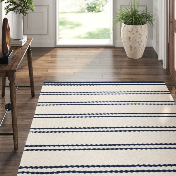 Fairbank Stripe Woven Wool Rug 2x3